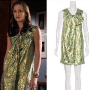 3.1 Phillip Lim metallic brocade shift dress 6